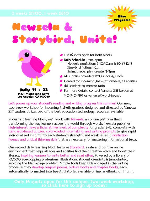Newsela & Storybird, Unite!